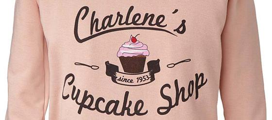Sweatshirt mit Cupcake-Print von Geelong