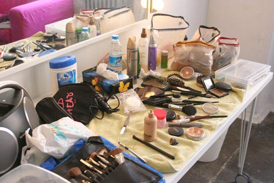 Backstage beim Freiseindesign Glamour-Fotoshooting 09