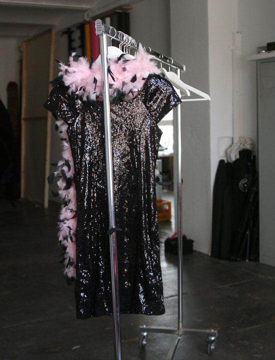 Backstage beim Freiseindesign Glamour-Fotoshooting 10