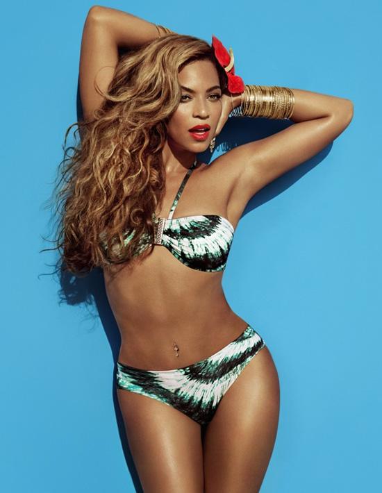 Beyonce für H&M Sommer 2013 02