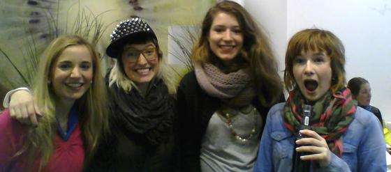Bloggertreffen im Youghurt Berlin