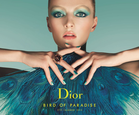 DIOR-Sommerlook 2013 Bird of Paradise