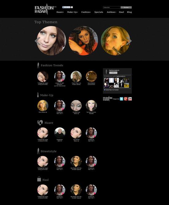 fashionradar tv das neue Beauty und Fashion Videoportal 01