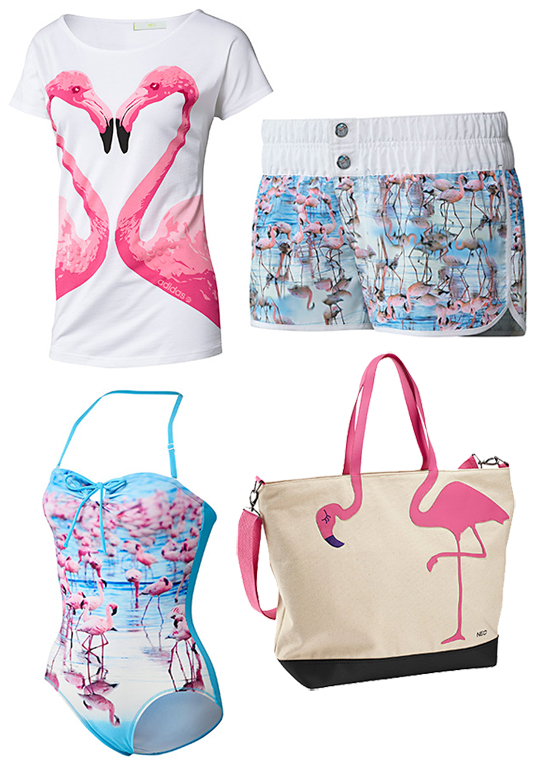 Flamingo Adidas neo