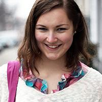 Patricia Teslenko Frage Freitag auf glamoursister