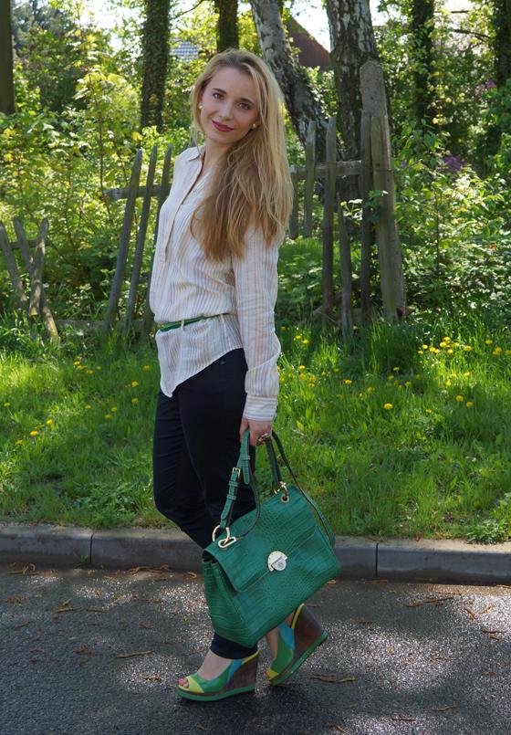 Grüne Bogner Tasche 01