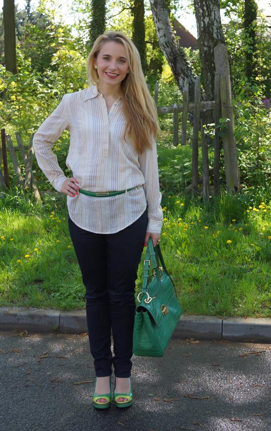 Grüne Bogner Tasche 03 neu
