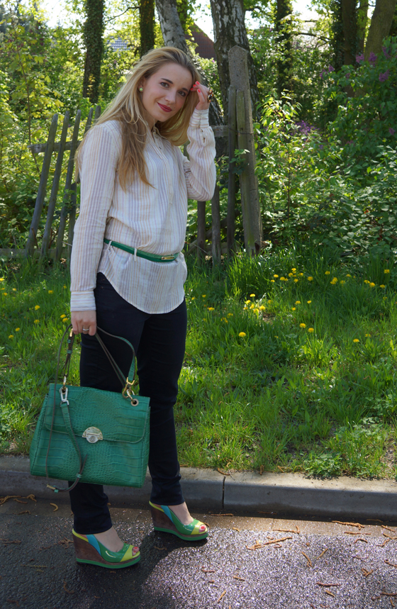 Grüne Bogner Tasche 07
