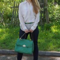 Grüne Bogner Tasche 08