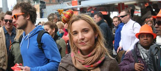 Königinnentag 2013 in Groningen