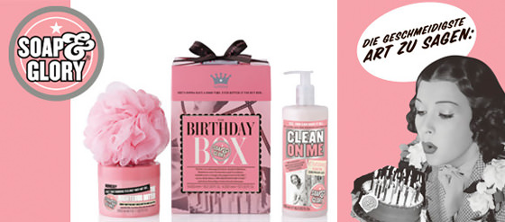 NEU Soap & Glory THE BIRTHDAY BOX