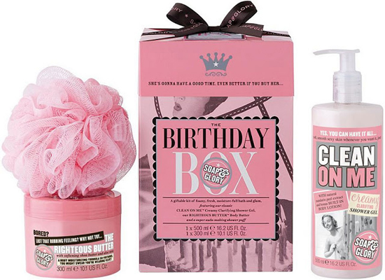 Soap & Glory The Birthday Box 01