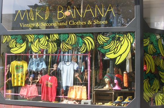 Vintage Laden Miki Banana Vintage 1