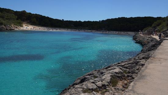 Bucht Cala Mondrago auf Mallorca