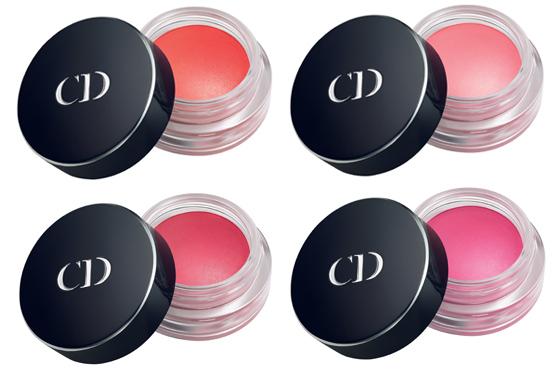 Die erfrischenden Farben der Dior Summer Mix Collection 2013 Blushs Cheek Cremes