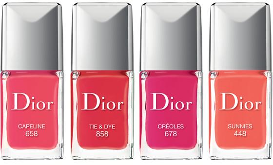 Die erfrischenden Farben der Dior Summer Mix Collection 2013 le Vernis Nagellack