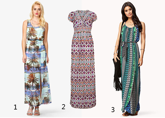 Die schönsten Sommer-Maxi-Kleider