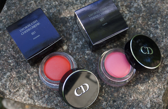 Dior Diorblush Cheek Creme Panama und Capri 01
