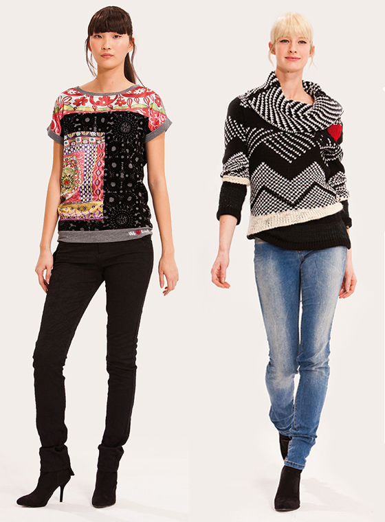Lookbook Desigual Herbst Winterkollektion 2013 We love Love 02