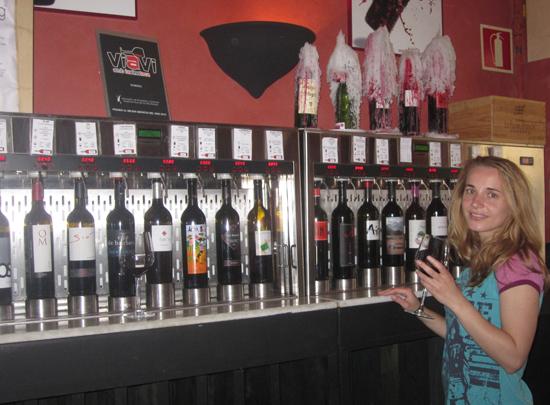 Wineing La Tapa de Vino Weinbar auf Mallorca