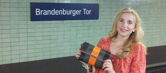 Die Travelling Bag von Globe Hope auf der Fashion Week Berlin