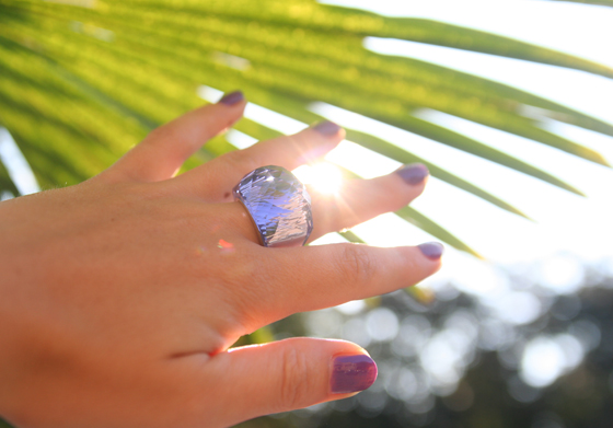 Swarovski Nirvana Lavendel Ring