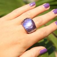 Swarovski Nirvana Ring Lavendel
