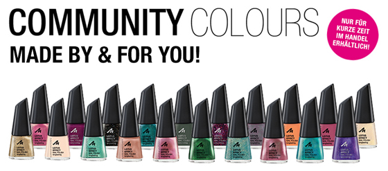 Nagellack MANHATTAN Community Colours - Limited Edition 01