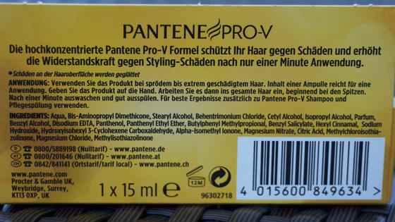 Pantene Pro-V 1 Minute Wunder-Ampulle 01