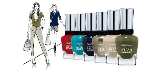 Sally Hansen Nagellack Designerkollektion mit Rodarte Tracy Reese und Prabal Gurung