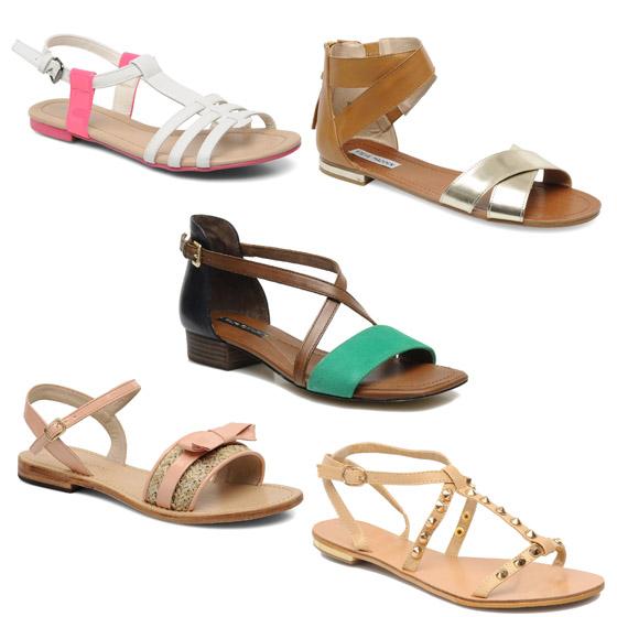Sandaletten Auswahl von Sarenza