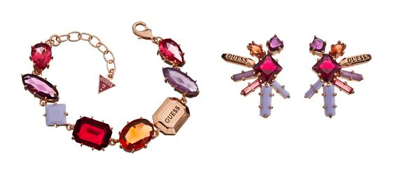Sophisticated Socialite Collection von GUESS jewellery Armband Ohrringe