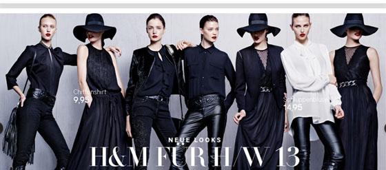 Die neue H&M-Herbstkollektion 2013-01