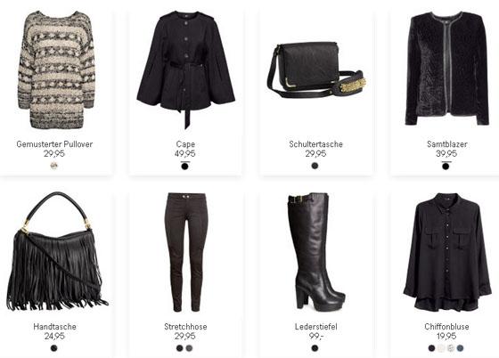 Die neue H&M-Herbstkollektion 2013-06