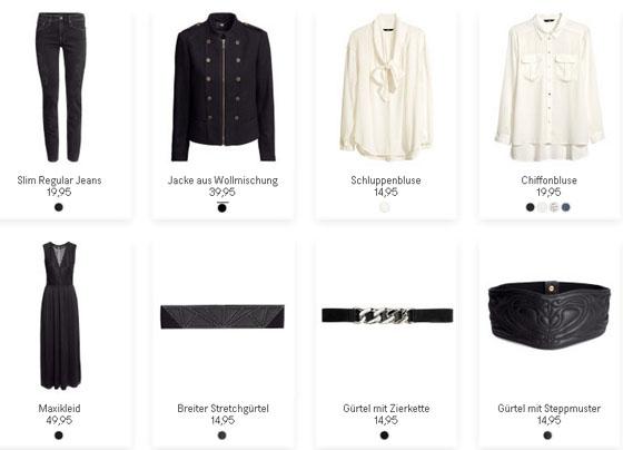Die neue H&M-Herbstkollektion 2013-07