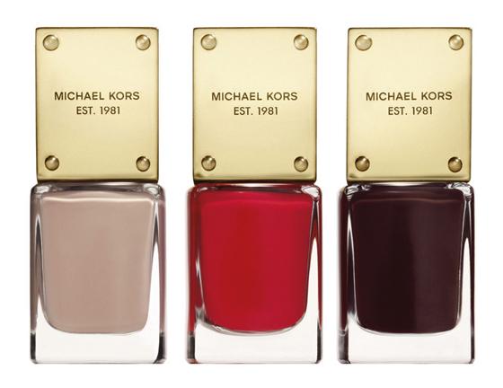 Michael Kors Duft- Beauty Kollektion ab Mitte Oktober 2013 bei Douglas Nagellacke 02