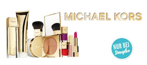Michael Kors Duft- Beauty Kollektion ab Mitte Oktober 2013 exklusiv bei Douglas