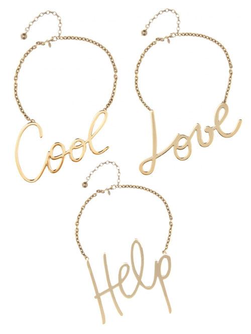 Statement-Halsketten von Lanvin Help