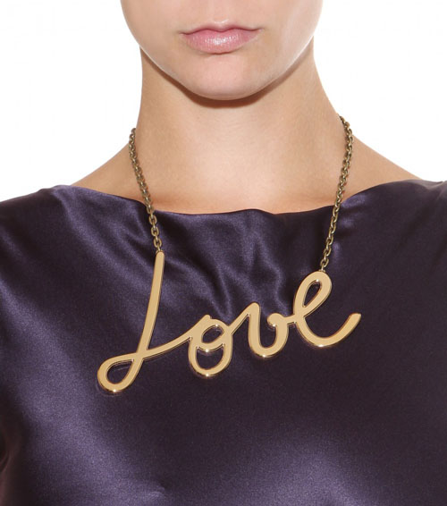 Statement-Halsketten von Lanvin Love