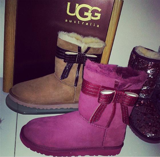 UGG Australia Boots Womens Bailey Bow