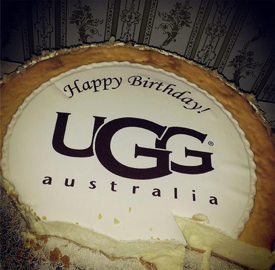 UGG Australia Cake Happy Birthday Geburtstag