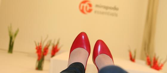 Mirapodo RebeccaMir präsentieren neue Schuhkollektion mirapodo essentials