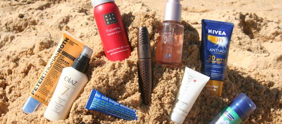 Urlaubs-Beauty-Produkte