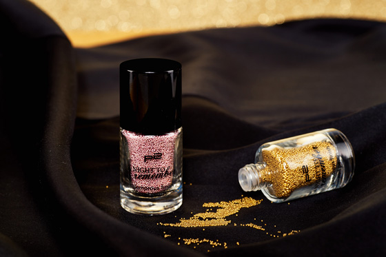 p2 LE A Night To Remember glamorous finish nail pearls