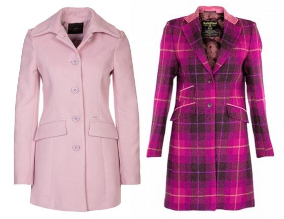 Pink und Rosa Mantel