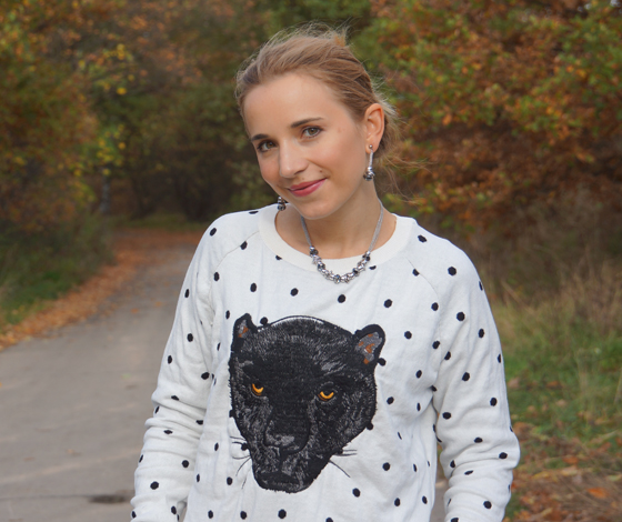 Statement Pullover Panther