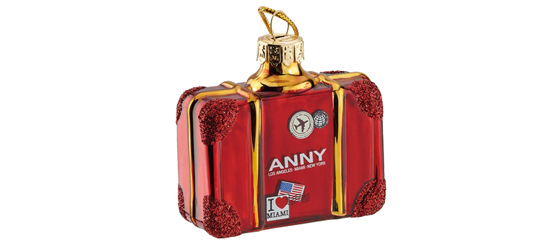 Die Anny Travelling home for Christmas Nagellack-Sets von Douglas Koffer