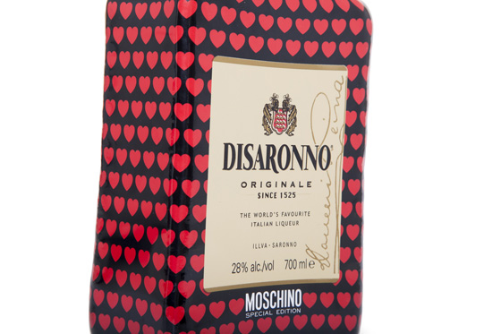 Flasche Moschino loves DISARONNO Limited Edition 01