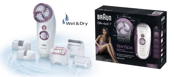 Silk epil 7 Skin Spa Braun 01