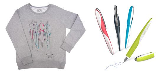 Berlin Fashion Week Herlitz my pen style Füllhalter Limited Edition Sweatshirt
